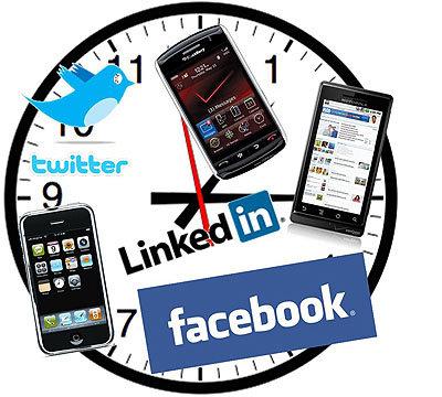 Se dispara el acceso diario a redes sociales a través del móvil
