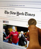 "La web de ""The New York Times"" pierde visitas desde que es de pago"