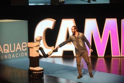 El robot Tiago Pal, protagonista del Campus Aquae 2016