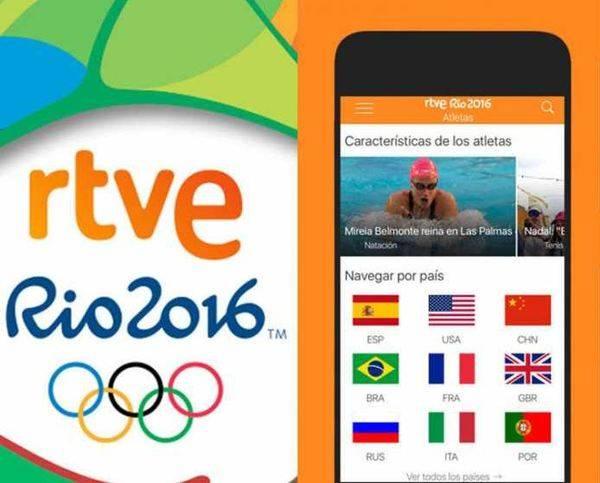 Los móviles y las redes sociales, oro en los JJ.OO. de Río