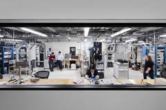 Laboratorio de IBM en el que desarrollan su ordenador cuántico.