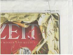 Detalle de la portada del n�mero de Die Zeit conmemorativo de los 70 a�os de la publicaci�n.