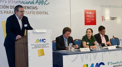 Pedro Merin, Manuel Daehler, Mariana Izaroqui y Carlos Lozanos