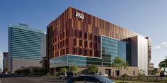 Edificio de la Walter Cronkite School of Journalism, de la Universidad de Arizona.