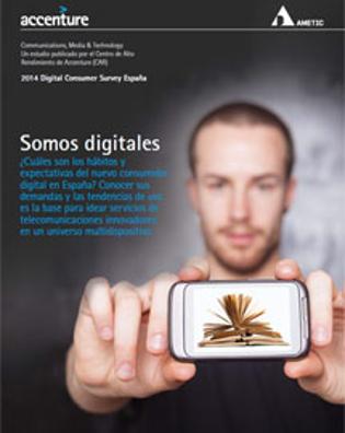 Los españoles están entre los más digitales del mundo
