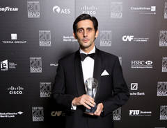 José María Álvarez-Pallete galardonado en los premios Bravo 2014