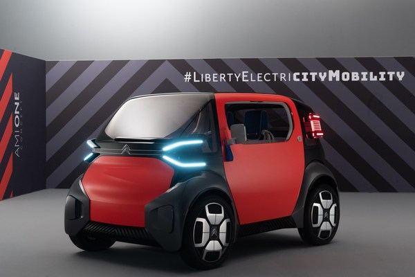 Así es el Ami One Concept, el nuevo coche de Citroën... también para adolescentes