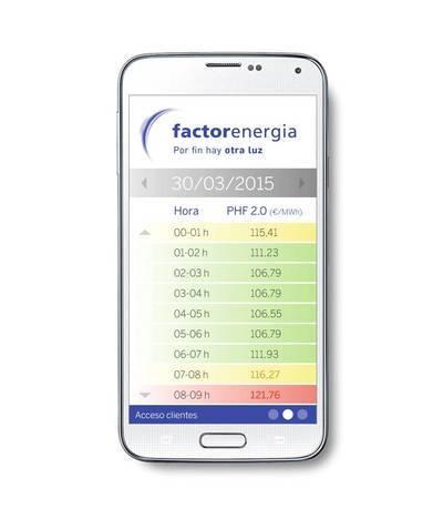 Una app permite reducir un 30% la factura de la luz