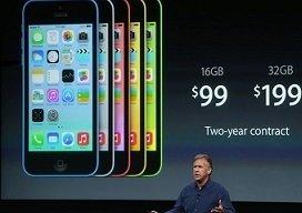 presentación de iPhone 5c