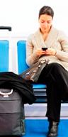 Los móviles son el radar permanente de los viajeros