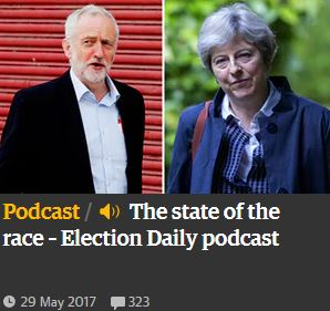 'The Guardian' emite un podcast diario en campaña electoral
