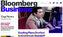 "'Bloomberg Business' sobrepasa en tráfico a ""The Wall Street Journal"""