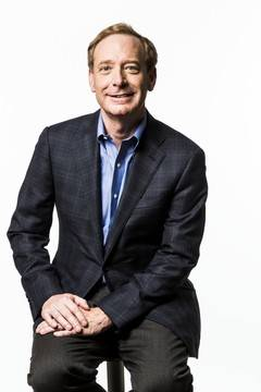 Brad Smith, presidente de Microsoft.