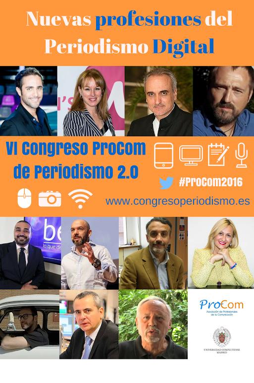 VI Congreso ProCom de Periodismo 2.0 Autónomo y Freelance