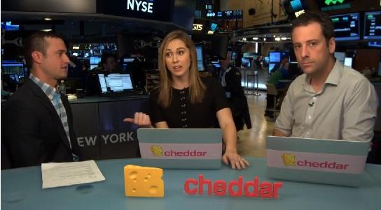 Cheddar.TV: la CNBC para millennials que triunfa en la Bolsa de Nueva York