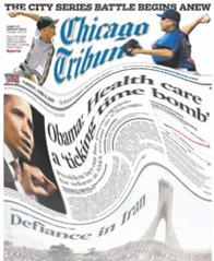 El Chicago Tribune navega en aguas movedizas