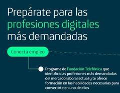 Cómo funciona 'Conecta Empleo', la plataforma de Telefónica que ayuda a encontrar los trabajos más demandados