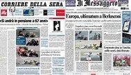 La prensa italiana entra en números rojos