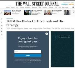 �The Wall Street Journal� entreabre su muro de pago
