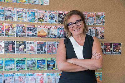 Marta Ariño cuenta a media-tics.com los planes de Zinet Media. / Imagen: Antonio Lago.