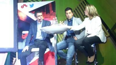 De izquierda a derecha, Luis Fernando Ruiz (OMD), Alfonso Calatrava (Twitter) y Lola Chic�n (SmartMe).
