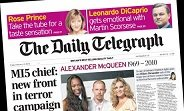 The Daily Telegraph es el superviviente tamaño sábana más rentable