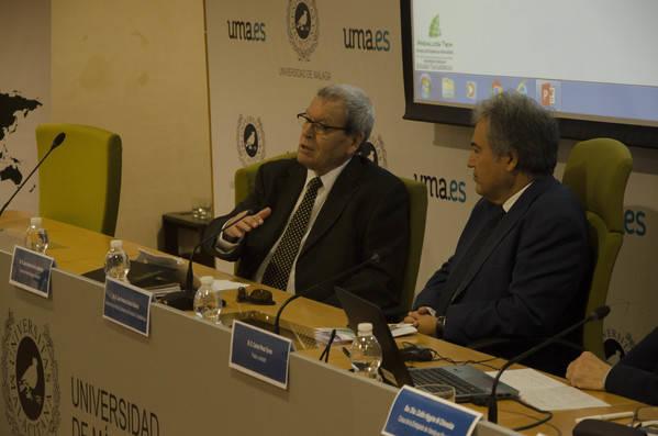De izquierda a derecha José Antonio Sierra y Juan Antonio García Galindo.