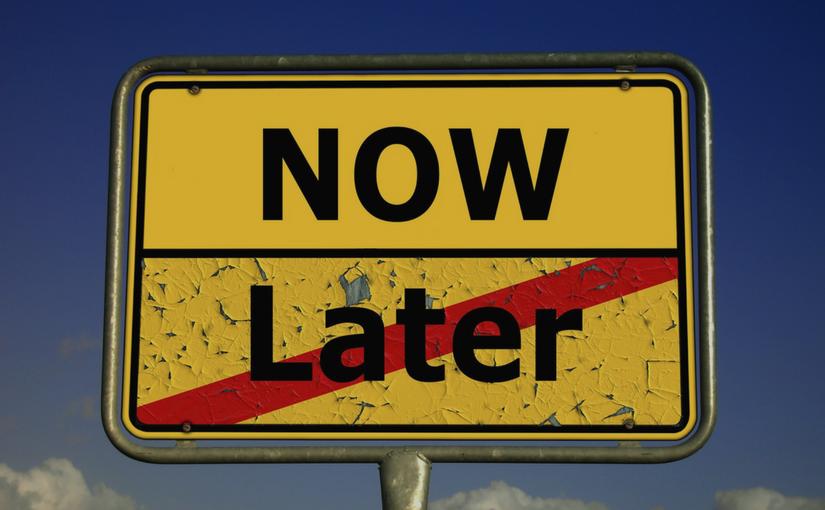 El mal hábito de diferir tareas y responsabilidades