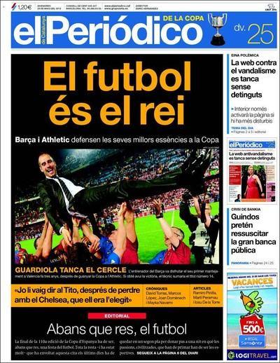 'El Periódico de Catalunya' es aún uno de los principales diarios de España.