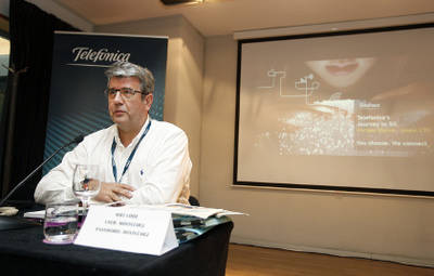 Telefónica muestra una pincelada del 5G en Barcelona