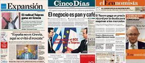 Ascenso y caída de los diarios económicos
