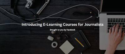 Facebook ofrece cursos gratuitos a periodistas