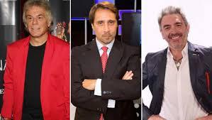 De izquierda a derecha: Casella, Feinmann y Greco.