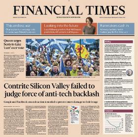 """Lo que nos enseña la experiencia de """"Financial Times"""" sobre transición digital"""