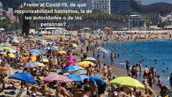 ¿Frente al Covid-19, de qué responsabilidad hablamos, la de las autoridades o de las personas?
