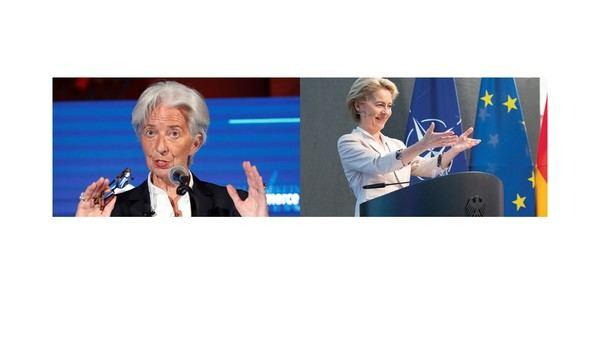 Christine Lagarde y Ursula von der Leyen