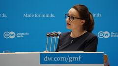 Michelle Müntefering, secretaria de estado de Exteriores de la República Federal de Alemania y periodista de profesión (Foto: DW).