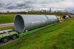 Hyperloop da un paso más para ser algo real