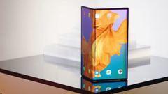 Huawei Mate X, el móvil plegable de la compañía china... con conexión 5G.