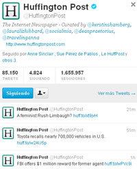 BBC y Huffington Post, los más virales en las redes sociales