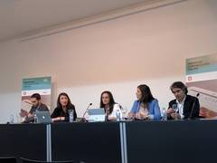 Representantes de IAB, enFemenino, AdJinn, Toluna y More than Research, autores del Estudio.