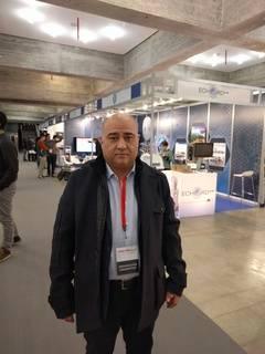 José Hipólito durante el Global Robot Expo de 2017 / media-tics.com