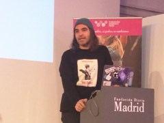 Chema Alonso durante su intervención en la Madrid Woman's Week (Imagen: L. Martínez).