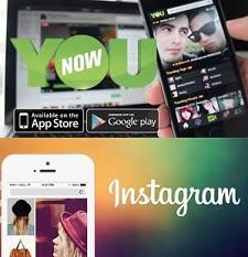 YouNow e Instagram: las aplicaciones que triunfan en las redacciones