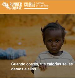 Una app convierte las calorías que quemas en euros contra el hambre