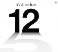 Anuncio de la presentación el nuevo Iphone 5. (Foto: Apple)