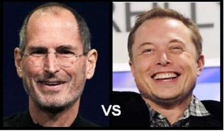 Elon Musk ¿mejor que Steve Jobs?