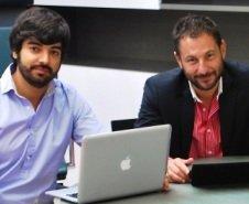 Pelayo García y Javier Gutierrez, fundadores de manzanasusadas.com