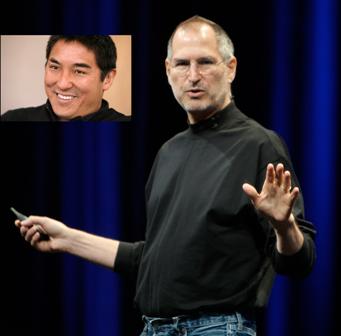 Guy Kawasaki y Steve Jobs