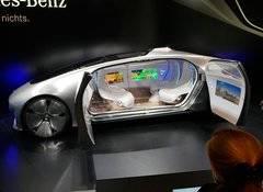 Prototipo de coche autónomo de Mercedes Benz